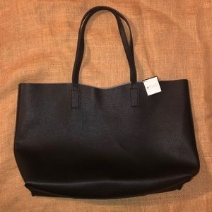 ✨Macy's Leather Totebag